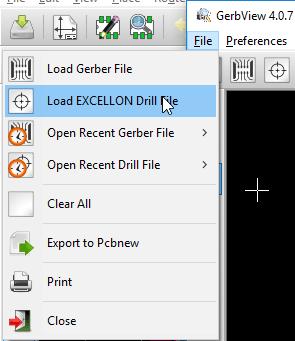 load excellon drill file